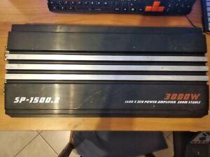 Amplificatore Sp Audio Sp-1500.2  LEGGI DESCRIZIONE
