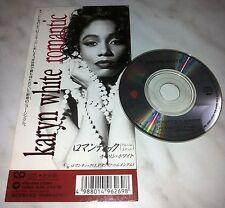 "CD KARYN WHITE - ROMANTIC - WPDP-6269 - JAPAN 3"" INCH - SINGLE"