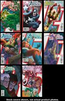 Avengers: Earth's Mightiest Heroes 1 2 3 4 5 6 7 8 Complete Set Run Lot 1-8 VF