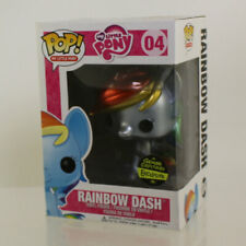 Funko POP! My Little Pony Figure RAINBOW DASH (Metallic) #04 (Exclusive) *NM BOX