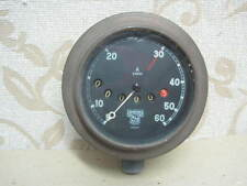 NOS SMITHS 90 Degrees Drive BRASS BODY 60MPH SPEEDOMETER AJS ARIEL AUSTIN SEVEN