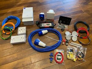 230v 240v 12v Electric Hook Up Kit For Self Build Campervan Conversion Van VW