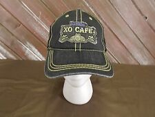 PATRON XO CAFE Trucker Hat Baseball Cap Men's Black One Size Snap Back