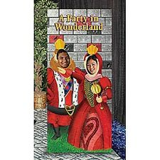 KING & QUEEN OF HEARTS PHOTO STAND-IN * alice in wonderland theme party