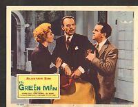 1957 MOVIE LOBBY CARD #3-1220 - THE GREEN MAN - ALASTAIR SIM