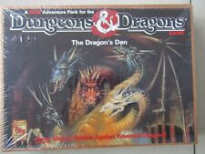 NEW SEALED DUNGEONS & DRAGONS BOARD GAME THE DRAGONS DEN - FACTORY SEALED V RARE