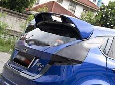 Fit Ford Fiesta 2010-2015 5dr Hatchback Spoiler Wing RS Style Unpainted