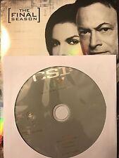 CSI: NY – Season 9, Disc 1 REPLACEMENT DISC (not full season)