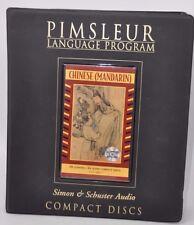 Pimsleur Language Program - CHINESE CANTONESE - Simon & Schuster Audio CDs