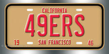 San Francisco 49ers Football NFL  License Plate Vanity Auto Tag Fathers Day