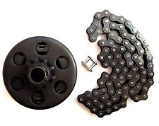 CENTRIFUGAL CLUTCH AND CHAIN HONDA 5.5 HP 6.5 HP 3/4'' ID 40/41/420 GO KART BIKE