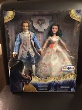Disney Exclusive Beauty and the Beast Prince & Belle Royal Celebration Set NEW