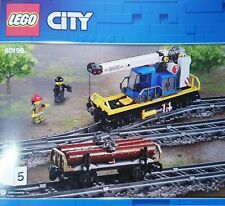 LEGO City Kranwaggon und Holzwaggon aus 60198 NEU 60197 60052 7939 7938 TOP