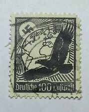 EAGLE 100 Dt. Reich 1934 - 100Pf. Flugpost - MiNr. 537 gestempelt German Stamp