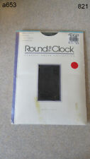 Round the Clock Girdle at the Top Pantyhose Womens B Bit O Black Sandal Foot