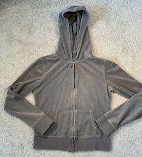 """""""Juicy Couture Model"""" Gray Tracksuit Full Zip Hoodie Jacket Size: XS / S"""