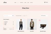 Ultra Store - Ecommerce Wordpress Website (with Demo Content)