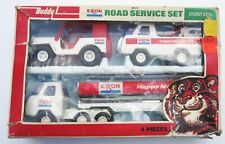 1976 Buddy L Exxon Road Service Set Tanker Jeep Tow Truck Diecast 1:43 NEW w/BOX