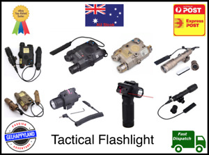 Tactical DBAL-A2 UHP PEQ-15 Red Laser LED Flashlight Torch Grip 100% AU Stock