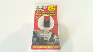 Jupiter Jack Hands Free Cell Device Turn Car Radio into a Speaker Phone NEW