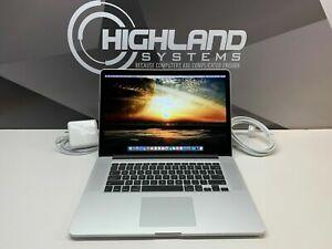 "APPLE MACBOOK PRO 15"" RETINA MAC LAPTOP / QUAD CORE I7 / 500GB SSD 16GB / OS2019"