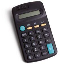 Hand Held Mini Size Pocket Office Calculator Solar Battery 8 DIGIT Home School