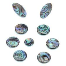 9pcs Saxophone Abalone Shell Key Buttons Inlays Saxophone Key Buttons Multicolor