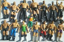 WWF WWE WCW BULK COLLECTION OF JAKKS PACIFIC RUTHLESS AGGRESSION FIGURES
