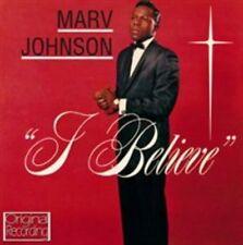 MARV JOHNSON - I BELIEVE USED - VERY GOOD CD