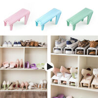 Adjustable Shoes Slots Space Saver Organizer Rack Storage Holder Shelf Welcome