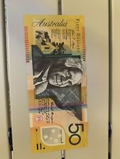 Australia 50 Dollars Banknote, Good Condition, Australian, Bill, Banknote