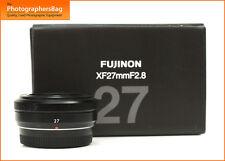 Fuji Fujinon 27mm f2.8 XF Objektiv + Kostenlose UK Porto