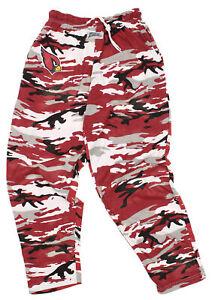 Zubaz NFL Men's Arizona Cardinals Camo Lounge Pants