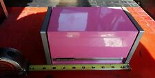 NEW IN BOX pink Snap on emblem Miniature Mini Toolbox Tool Box