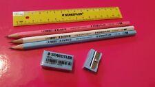 Staedtler Pencil Case Set Eraser Ruler Pencils Sharpener  *CHEAPEST ON EBAY*