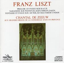 Liszt - Organ Works / Chantal de Zeeuw