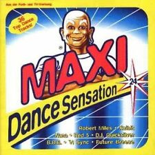 Maxi Dance Sensation 24 (1997) B.B.E., Robert Miles, Future Breeze, Apo.. [2 CD]