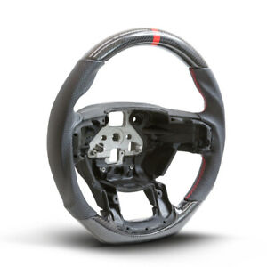 Performance Steering Wheel For 15 16 17 Ford F150 - Real Carbon Fiber w/ Leather