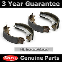 SET OF REAR DELPHI LOCKHEED BRAKE SHOES FOR NISSAN FIGARO COUPE 1.0 (1991-1992)