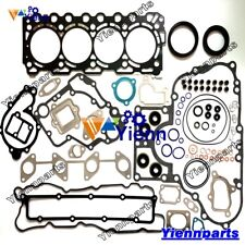 V3307-DI-TE3 Engine Full Gasket Kit For Kubota S650 T630 T650 S630 Loader Repair