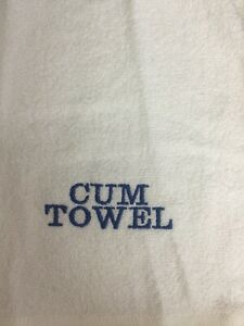 Adults RUDE After Sex Wipes Cum Fanny Willy Wank Flannel Cloth Gift