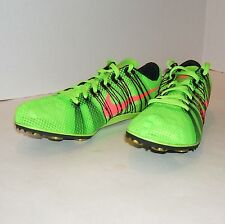 Nike Zoom Victory 2 Track Running Shoes 555365 306 Size 12.5 with Spikes & SRT