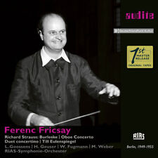 Strauss / Weber - Ferenc Fricsay Conducts Richard Strauss [New CD]