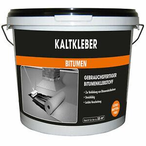 Kaltkleber Bitumen 5-10 kg MEM Bauchemie Kleber Bitumenkaltkleber f. Dachpappe