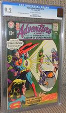 Adventure #376 CGC 9.2 Near Mint- DC 1969 Superboy Legion of Super-Heroes/LSH