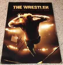 DARREN ARONOFSKY SIGNED AUTOGRAPH THE WRESTLER 12x18 MOVIE PHOTO POSTER w/PROOF