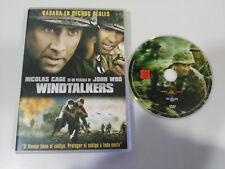 WINDTALKERS NICOLAS CAGE JOHN WOO DVD + EXTRAS ESPAGNOL ENGLISH ALLEMAND
