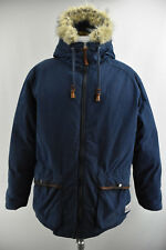 PEAK PERFORMANCE Mens Jacket Goose Down Feather Padded Parka Hooded Coat Size L