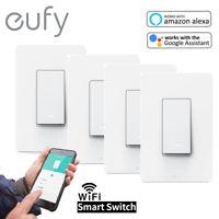 1/2/3/4 eufy Smart WiFi Light Switch with Alexa/Google Assistant /APP Control