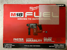 """Brand New Milwaukee 1"""" SDS Plus Rottary Hammer 2712-20 (Tool Only)"""